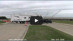 Backing your trailer easily with Automated Safety Hitch