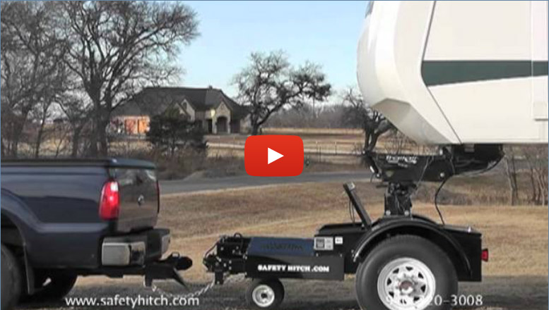 Auto disconnect your trailer from your hitch with Automated Safety Hitch