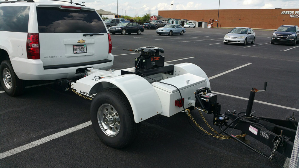 Fifth Wheel Bumper Pull : Bumperpull trailer with triple play safety hitch the